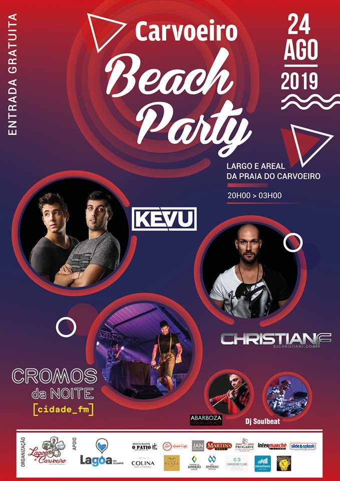 Carvoeiro Beach Party 2019